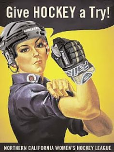 Blog for beginning women's ice hockey! #hockey #womens