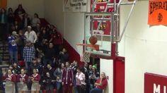 Insane Finish to Regulation HS Basketball Game (Ball Stuck on top of Rim)