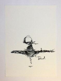 Papel clairefontaine de 180gs  (vergé) de Paula Alvim