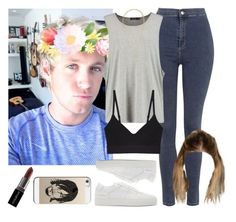 """Sunny day with Niall. -----> *Cynthia."" by imaginegirlsdsos ❤ liked on Polyvore featuring Topshop, Common Projects, Base Range, H&M, Casetify and Smashbox"