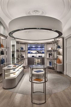 Smythson flagship renovation by IlluminationWorks