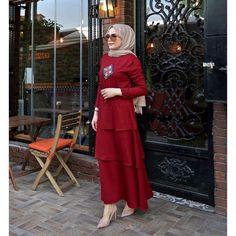 Edgy Hijab Fashion