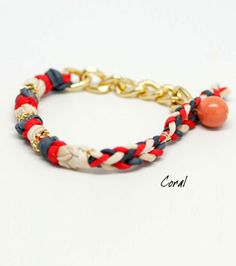 "Kris Nations ""Old Town Bracelet"" Comes in several different color combinations... Love them all. $45"