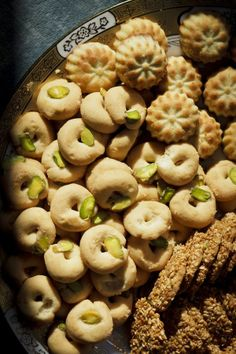 Arabic cookies (maamoul, barazek, ghorabiye) - غريبة
