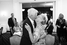 60th anniversary party and they still kiss like this :) #photography #blackandwhite #kiss #anniversary