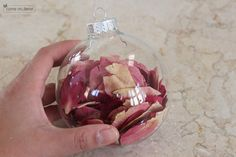 Petals from bride's bouquet.  What a neat idea!