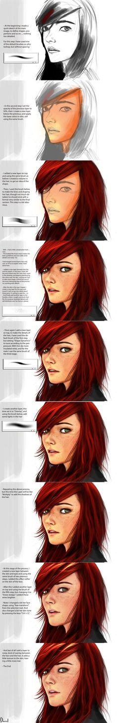 Redhead - Steps by ~DanOliveira on deviantART
