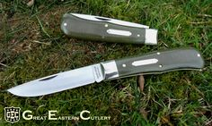 Tidioute Cutlery Cody Scout in OD Green Linen Micarta Edc, Swiss Army Pocket Knife, Pocket Knives, Knife Making, Folding Knives, Everyday Carry, Cutlery, Weapon, Blade