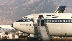 Olympic Airways B 707-384 city of Thebes