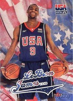 cool 200304 Fleer USA Olympics Lebron James ROOKIE MINT MVP!! Heat - For  Sale fecbc19e1