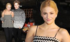 Pixie Lott and boyfriend Oliver Cheshire step out at screening party