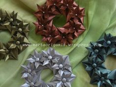 Pap garland | Transforming paper and fabric of surprises!