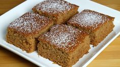 Apple vegan cake, this is a delicious, egg-less and dairy free cake. Apple Vegan Cake is easy and basic. Cake has a soft and moist texture. It is hard to believe that this is vegan. Vegan Apple Cake, Apple Cake Recipes, Dessert Cake Recipes, Eggless Apple Cake Recipe, Apple Recipes Indian, Healthy Vegan Snacks, Vegan Treats, Vegan Recipes, Cheap Recipes