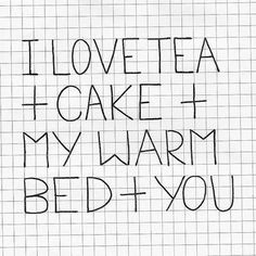 if tea = coffee & cake = donuts, then yes