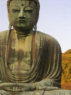 Amitabha Buddha in the Kotoku-in temple in Kamakura, Japan