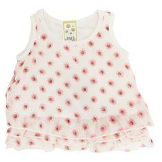 Kiddo Infant Girl Floral Print Tank #VonMaur