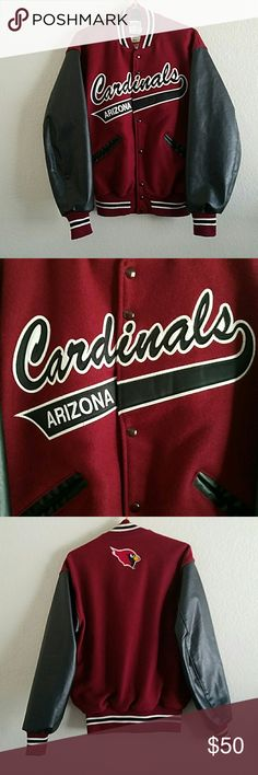 Arizona Cardinals Vintage Wool Jacket- M Great used condition. Vintage logo. NFL  Jackets & Coats
