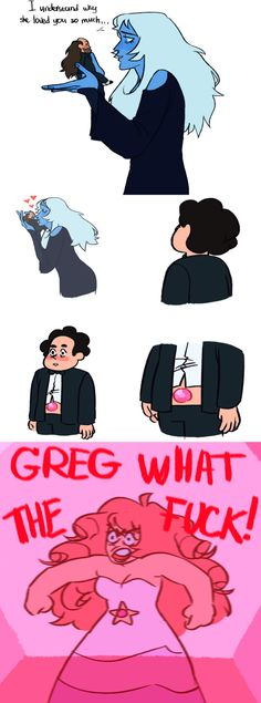 See more 'Steven Universe' images on Know Your Meme! Universe Images, Universe Art, Greg Universe, Memes Steven Universe, Steven Universe Jamie, Steven Universe Wallpaper, Steven Universe Ships, Pink Diamond Steven Universe, Kevedd