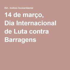 Nesta segunda, 14 de março, quando se celebra o Dia Internacional de Luta contra Barragens, o Movimento dos Ameaçados por Barragens (Moab) realiza uma manifestação na cidade de Cajati (SP) em parceria com associações quilombolas e organizações da sociedade civil que atuam no Vale do Ribeira.
