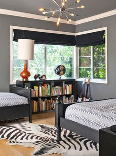 15 Black-and-White Bedrooms | Bedrooms & Bedroom Decorating Ideas | HGTV