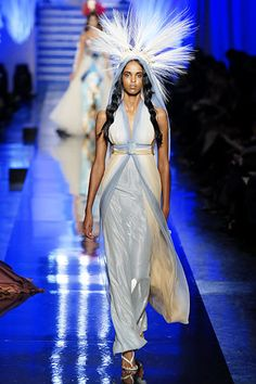 Jean Paul Gaultier Spring 2007 Couture Fashion Show - Ayan Elmi (MADISON)