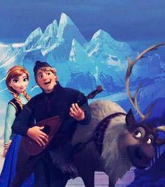 Anna / Kristoff / Sven / Frozen