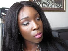 "NATURAL HAIR: ""SLEEK & SOFT BLOW OUT"" ITALIAN YAKI FULL LACE WIG FROM LACEWIGFRONT.COM"