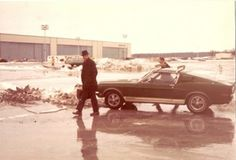 1968 Shelby back in the day.