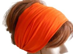 Hair Band, Boho Headband, Orange Headband, Cotton Hair Band, Yoga Headband, Bohemian Headband, Turban Headband, Headbands for Women     Soft cotton. 100% handmade. Hair band. Large, comfortable. Colors available. super easy to wash care. . only dry with a towel after hand washing, to remove excess moisture to put in a flat spin.  Thank you for visiting. my shop. https://www.etsy.com/shop/MimosaKnitting?ref=listing-shop2-all-items-count#items