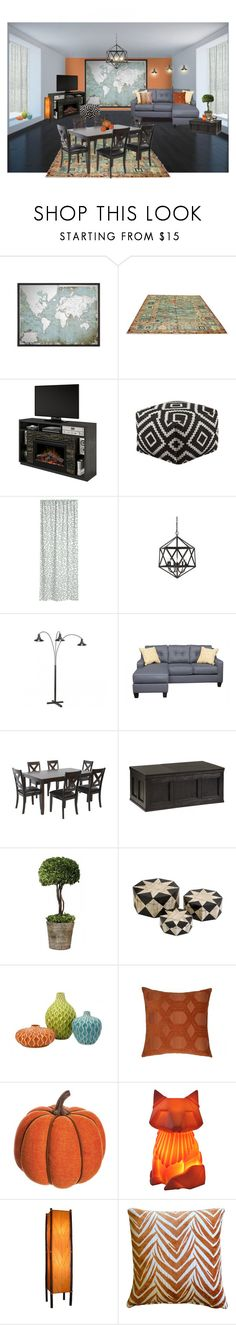 """""""world Travel"""" by sterlingkitten on Polyvore featuring interior, interiors, interior design, home, home decor, interior decorating, Mor, Dimplex, H&M and Allstate Floral"""