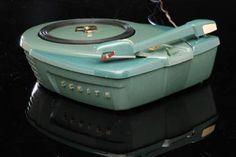 Zenith Atomic Record Player