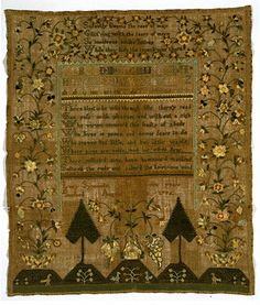 Samplers from the Collection | V&A