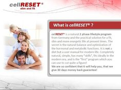 Weight Lose with CellReset.