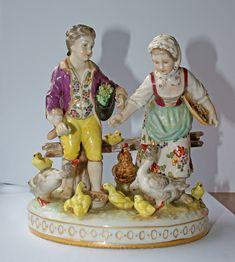 Porcelain Figurines | Volkstedt Porcelain Figurine | Flickr - Photo Sharing!