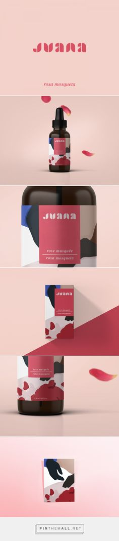 JUANA Rose Hip Oil Packaging by Kali Day | Fivestar Branding Agency – Design and Branding Agency & Curated Inspiration Gallery