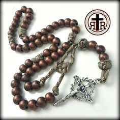 Rugged Rosaries have been used all over the world by deployed US Military from Europe to Iraq to Afghanistan, which is a testimony to their strength and ruggedness.  They are also favored by law enforcement officers, first responders, and our brothers in the church. These rosaries are tough and unbreakable - a true weapon against the evil one. Please check them out at http://www.cordbands.com/products/rattlesnake-paracord-rosary