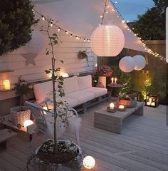 cosy party deck