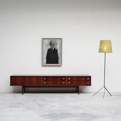 Oswald Vermaercke Ultra low V-form Paola sideboard