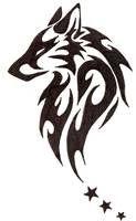 tribal wolf tattoos designs and ideas - tribal tattoo sketch Tribal Animal Tattoos, Tribal Drawings, Tribal Animals, Tattoo Drawings, Tattoo Animal, Tribal Wolf Tattoos, Tribal Bear Tattoo, Wolf Drawings, Lobo Tribal