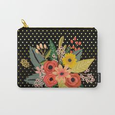 Sold #flowers #bouquet #carryallpouch Available in different products. Check more at society6.com/julianarw