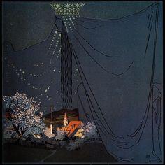 Stars by Mila Von Luttich (lived 1872-1929)