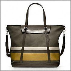 I know it is a men's  bag but dammit I want it! $428.00 Another Coach tote