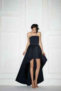 My dress ; Black Love, All Black, I Dress, Strapless Dress, Monochromatic Decor, Luxury Fashion, Womens Fashion, Dream Decor, World Of Fashion