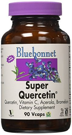 BlueBonnet Super Quercetin 500 mg Vegetable Capsules 90 Count >>> You can get additional details at the image link.