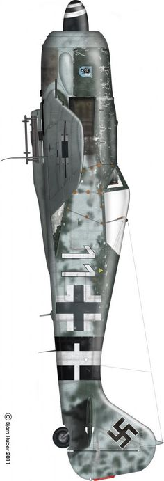 Le Focke-Wulf Fw 190 Würger (Pie-grièche) More