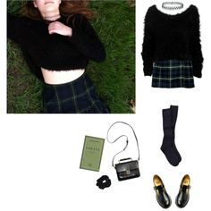 """""""grass nymphet"""" by grimess on Polyvore"""