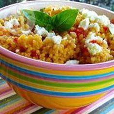Couscous Salat mit Tomaten, Basilikum und Feta @ de.allrecipes.com