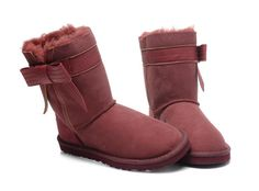 #BootsUggHub   ugg josette boots red women boots warm design and fashion style is star favorite