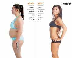 More weight loss transformations