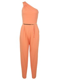 One Shoulder Jumpsuit - Rompers & Jumpsuits - Apparel